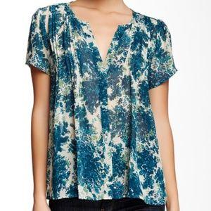 Joie 'Eitana' floral print silk blouse